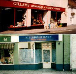 Gillams and Mother and Baby store