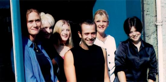 Anna, Amey, Jenny, Daff & Sal