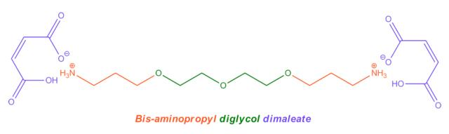 Bisaminopropyl diglycol dimaleate